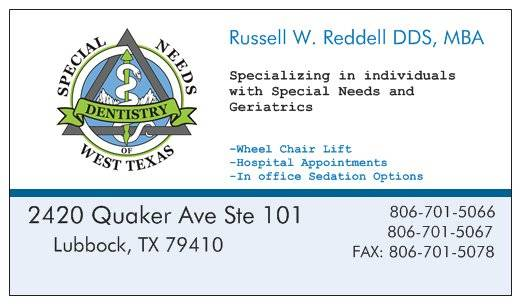 Reddell Russell W DDS - dentist  | Photo 4 of 7 | Address: 2420 Quaker Ave #101, Lubbock, TX 79410, USA | Phone: (806) 701-5066