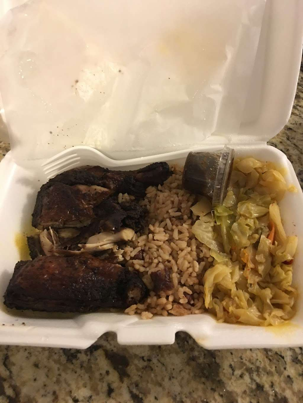 Vee and E Original Jamaican Jerk Chicken - restaurant  | Photo 9 of 10 | Address: 3712 Grant St, Gary, IN 46408, USA | Phone: (219) 512-2446