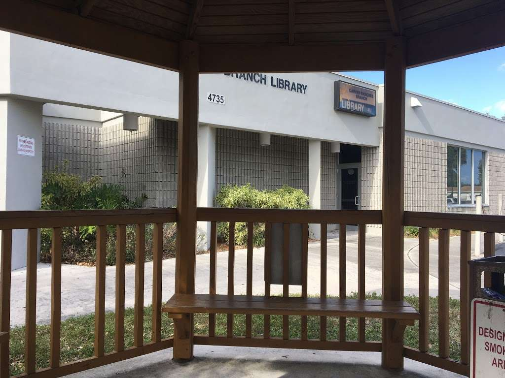 Carver Ranches Library - library  | Photo 3 of 10 | Address: 4735 SW 18th St, West Park, FL 33023, USA | Phone: (954) 357-6245