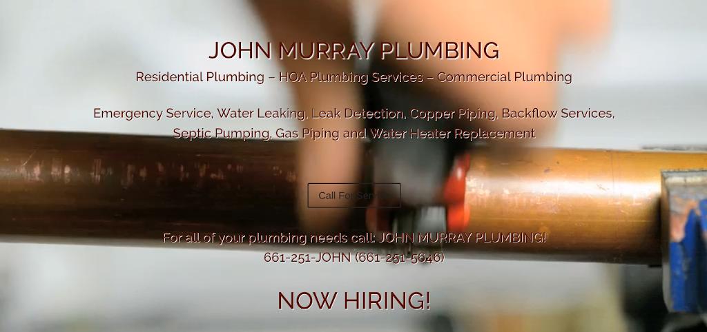 John Murray Plumbing - plumber  | Photo 2 of 3 | Address: 16387 Sierra Hwy, Canyon Country, CA 91351, USA | Phone: (661) 251-5646