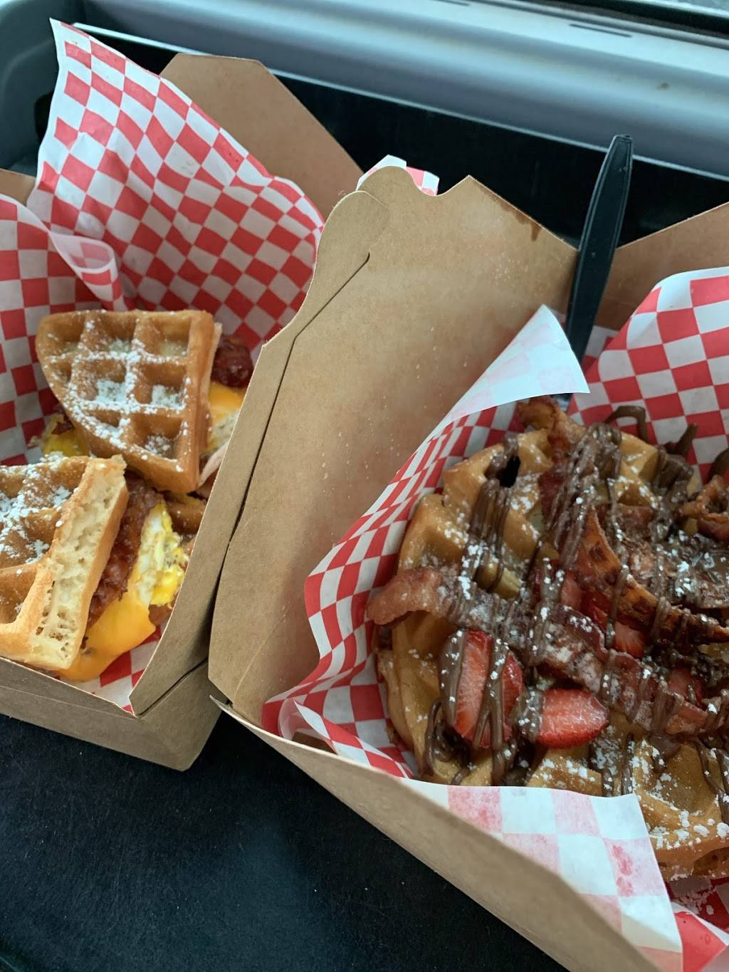 Waffle wagon - restaurant  | Photo 1 of 4 | Address: 4 Mt Vernon St, Ridgefield Park, NJ 07660, USA | Phone: (551) 259-4040