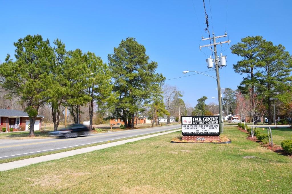 Oak Grove Baptist Church - church  | Photo 2 of 10 | Address: 2635 E Washington St, Suffolk, VA 23434, USA | Phone: (757) 539-8012