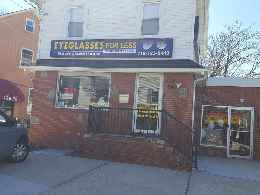 Eyeglasses For Less - store  | Photo 2 of 5 | Address: 138-64 Francis Lewis Blvd, Rosedale, NY 11422, USA | Phone: (718) 723-9410