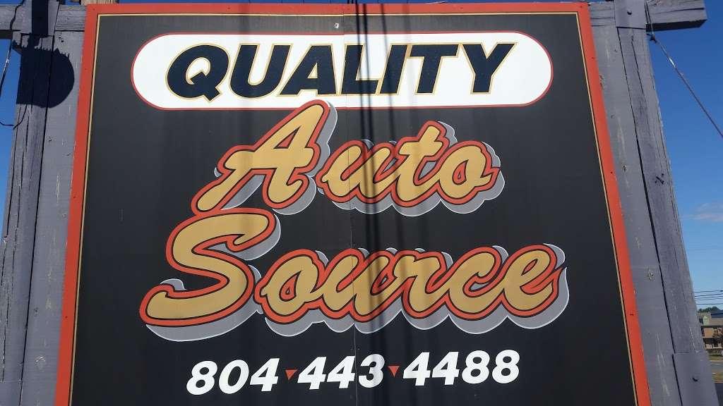 Quality Auto Source Inc - car dealer    Photo 1 of 1   Address: 1315 Tappahannock Blvd, Tappahannock, VA 22560, USA   Phone: (804) 443-4488