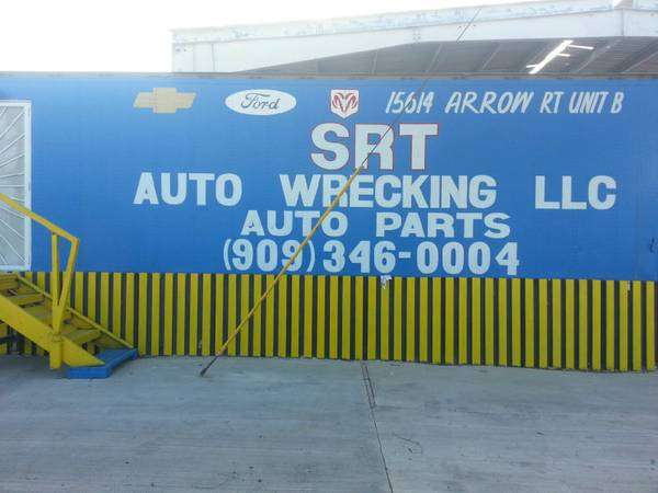 SRT AUTO WRECKING - car repair  | Photo 2 of 10 | Address: 15614 Arrow Route unit b, Fontana, CA 92335, USA | Phone: (909) 346-0004