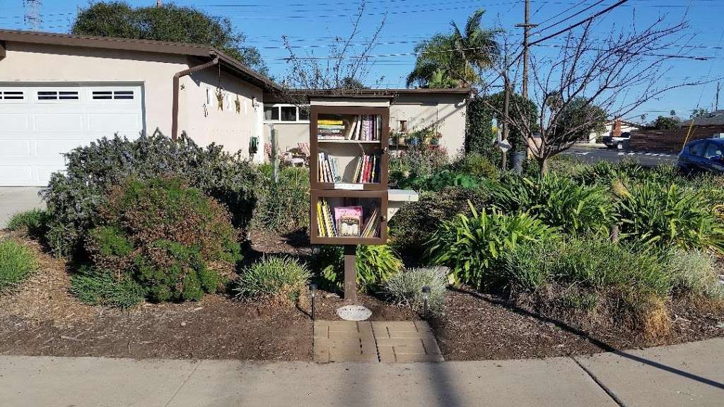 Corner Garden Little Free Library - library  | Photo 1 of 2 | Address: 4870 Conrad Ave, San Diego, CA 92117, USA