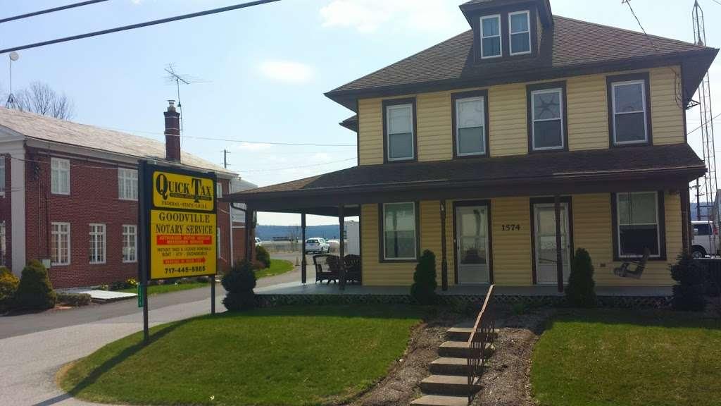 Goodville Notary - insurance agency    Photo 1 of 2   Address: 1574 Main St, Goodville, PA 17528, USA   Phone: (717) 355-0405