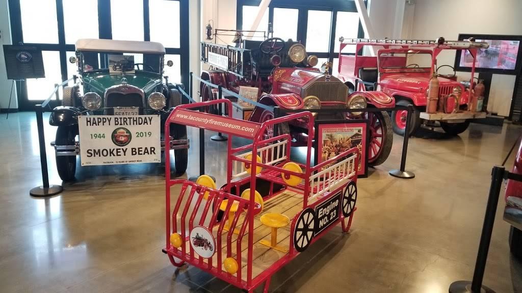 The Los Angeles County Fire Museum - museum  | Photo 8 of 9 | Address: 16400 Bellflower Blvd, Bellflower, CA 90706, USA | Phone: (562) 925-0234