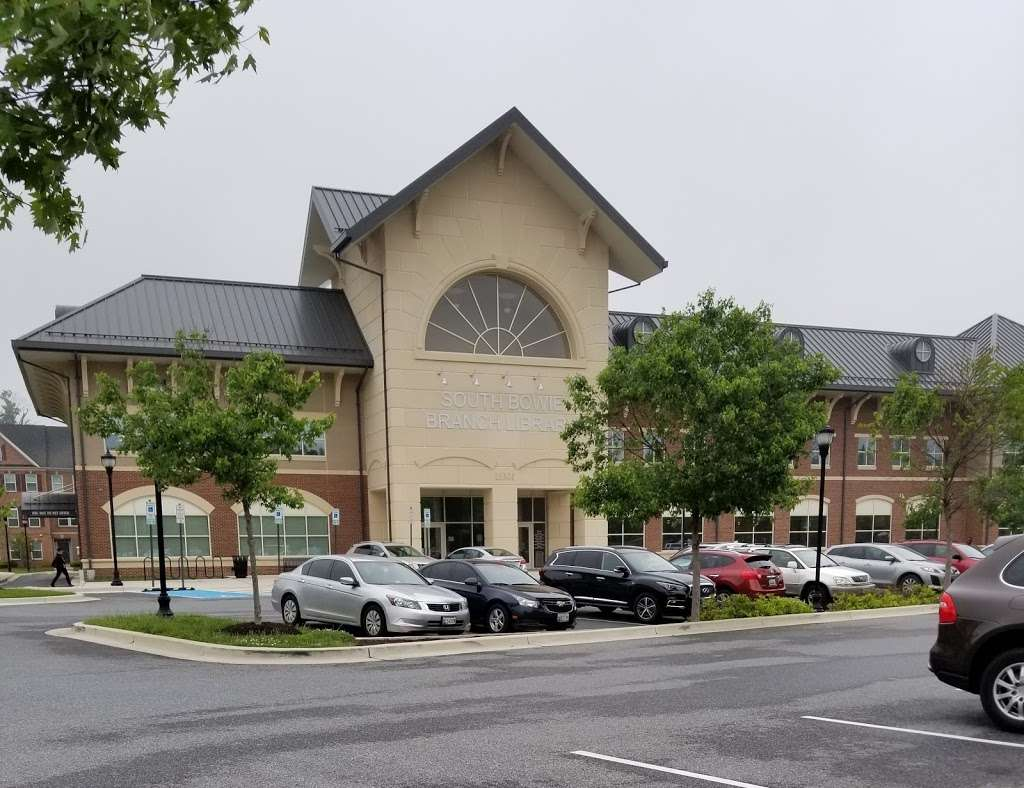 South Bowie Branch Library, PGCMLS - library  | Photo 2 of 10 | Address: 15301 Hall Rd, Bowie, MD 20721, USA | Phone: (301) 850-0475