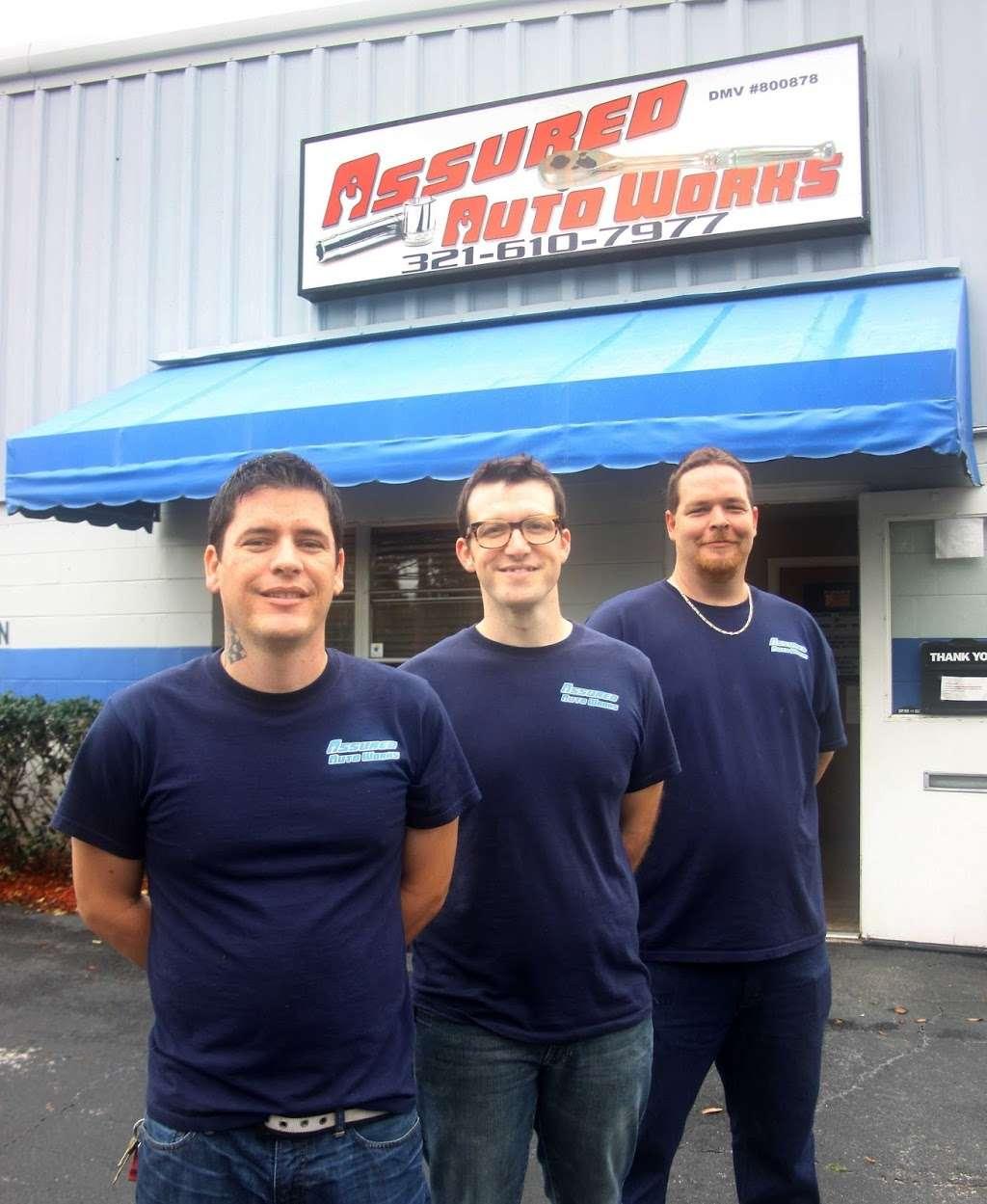 Assured Auto Works - car repair    Photo 8 of 10   Address: 4451 Enterprise Ct suite n, Melbourne, FL 32934, USA   Phone: (321) 622-0002