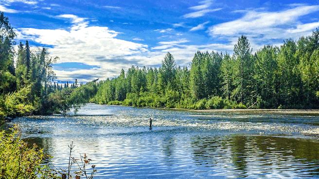 Wilderness Place Lodge Inclusive Alaska Fishing - lodging  | Photo 4 of 10 | Address: 4525 Enstrom Cir, Anchorage, AK 99502, USA | Phone: (907) 733-2051