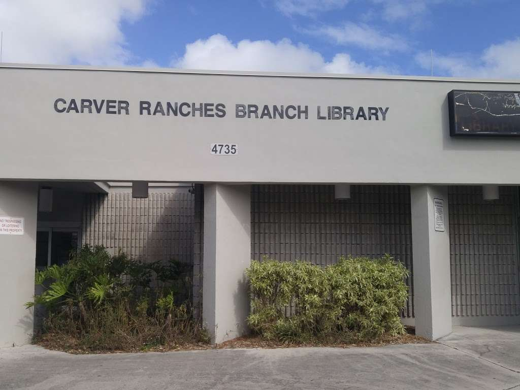 Carver Ranches Library - library  | Photo 5 of 10 | Address: 4735 SW 18th St, West Park, FL 33023, USA | Phone: (954) 357-6245