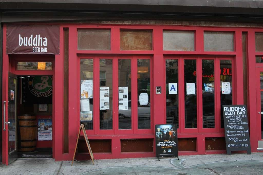Buddha Beer Bar - restaurant    Photo 4 of 10   Address: 4476 Broadway, New York, NY 10040, USA   Phone: (646) 861-2595