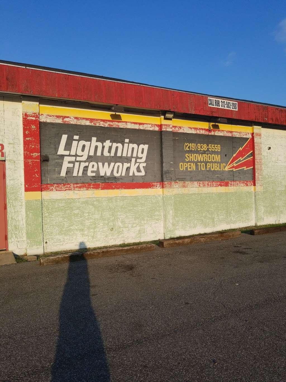 Lightning Fireworks - store    Photo 5 of 9   Address: 9401 Melton Rd, Gary, IN 46403, USA   Phone: (312) 502-2987