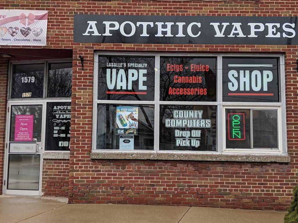 Apothic Vapes - store  | Photo 1 of 10 | Address: 1579 Front Rd, Windsor, ON N9J 2B5, Canada | Phone: (519) 991-7599
