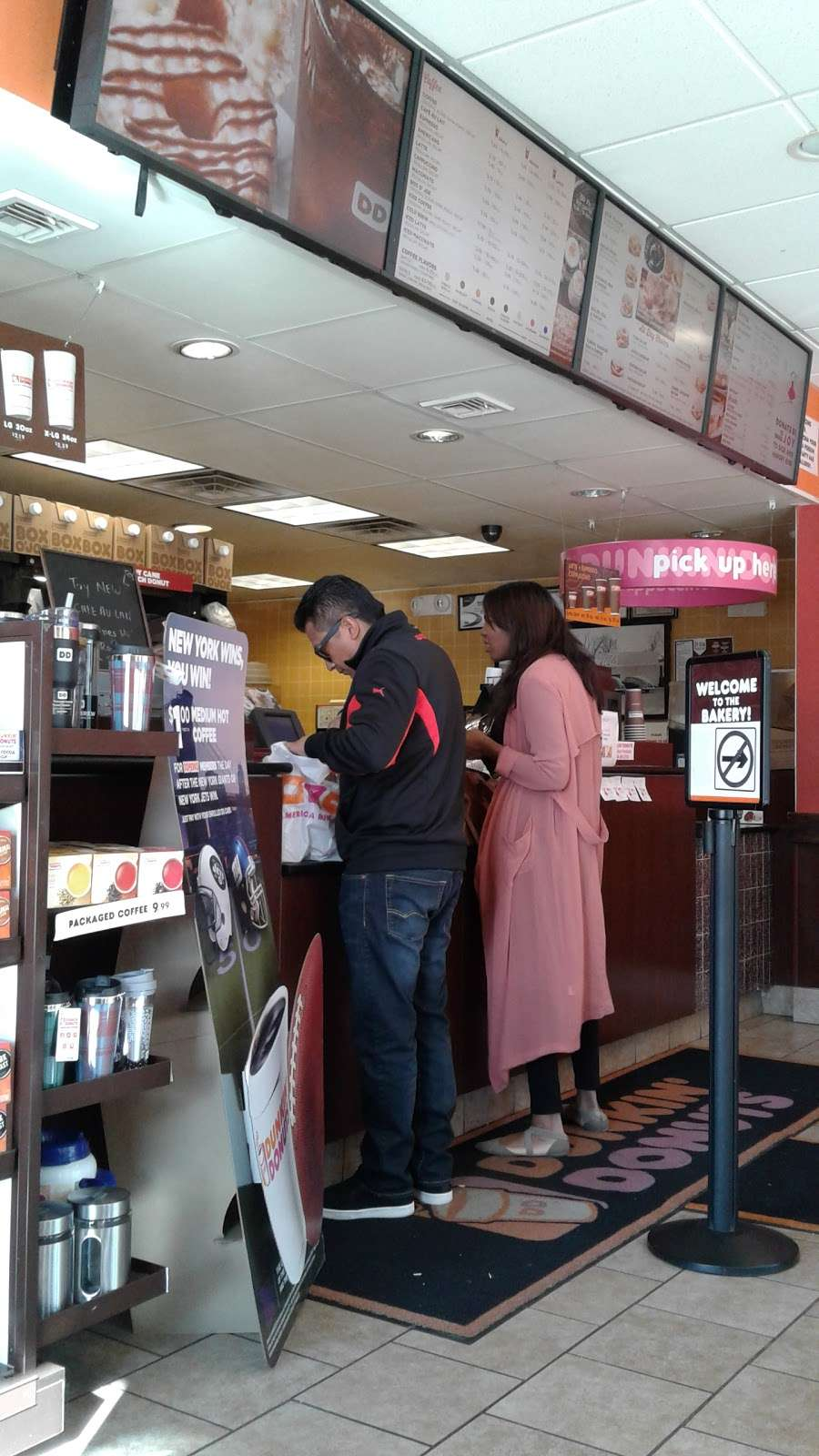 Dunkin Donuts - cafe  | Photo 2 of 10 | Address: 2109 John Fitzgerald Kennedy Blvd, North Bergen, NJ 07047, USA | Phone: (201) 863-0500