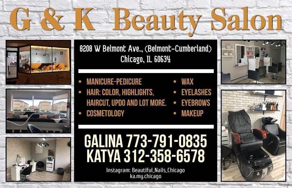 G&K BEAUTY SALON - hair care  | Photo 3 of 4 | Address: 8208 W Belmont Ave, Chicago, IL 60634, USA | Phone: (773) 791-0835