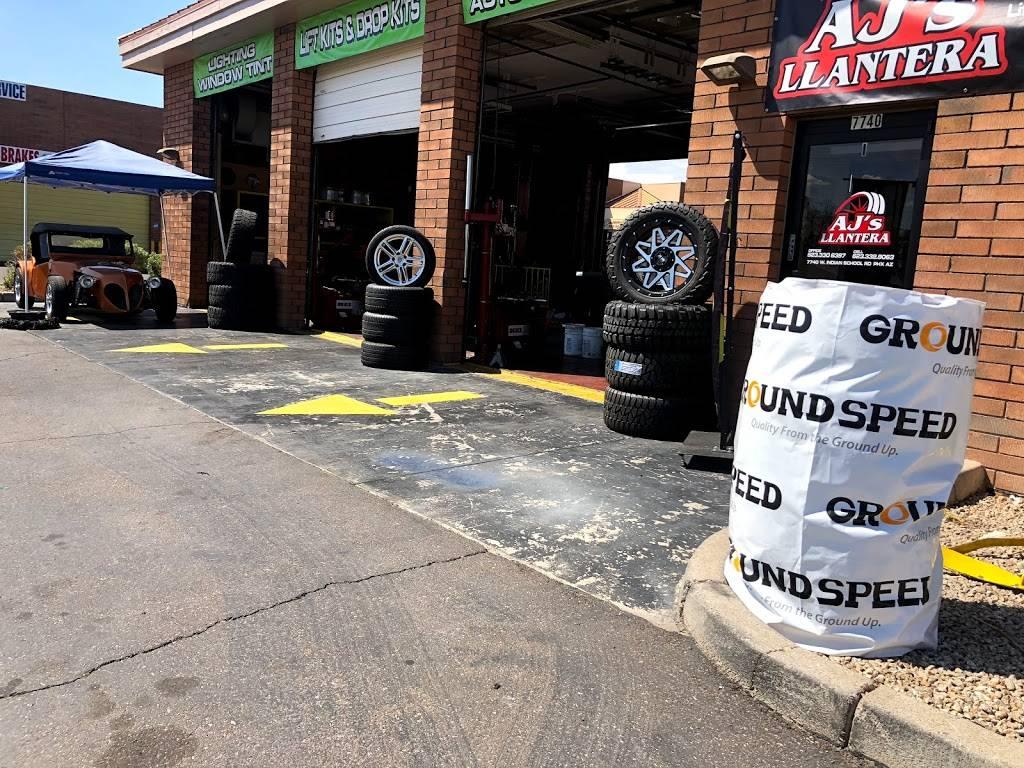 AJs Llantera - car repair  | Photo 10 of 10 | Address: 7740 W Indian School Rd suite 1, Phoenix, AZ 85033, USA | Phone: (623) 332-9063