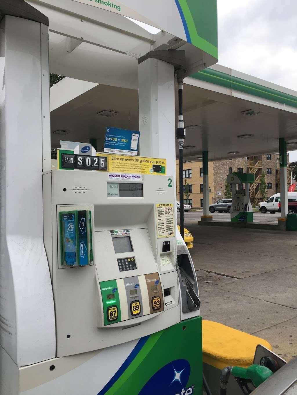 BP - gas station  | Photo 1 of 1 | Address: 1001 S 1st Ave, Maywood, IL 60153, USA | Phone: (708) 681-1101