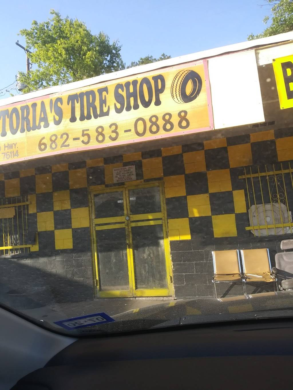 Victoria's Tire Shop - car repair  | Photo 1 of 8 | Address: 2800 Jacksboro Hwy, Fort Worth, TX 76114, USA | Phone: (682) 583-0888