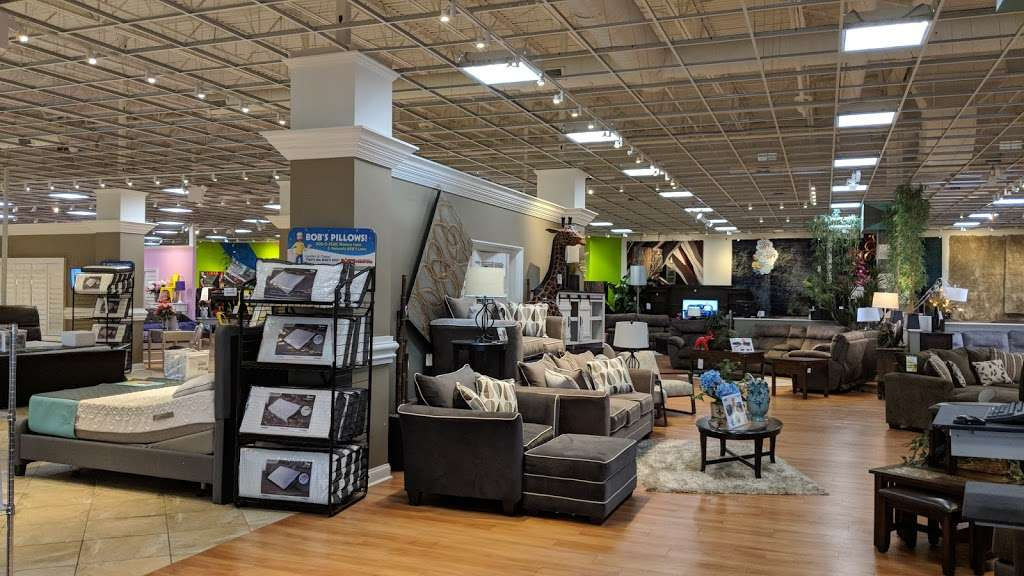 Bobs Discount Furniture - furniture store  | Photo 1 of 10 | Address: 3 Mill Creek Dr, Secaucus, NJ 07094, USA | Phone: (201) 643-1370