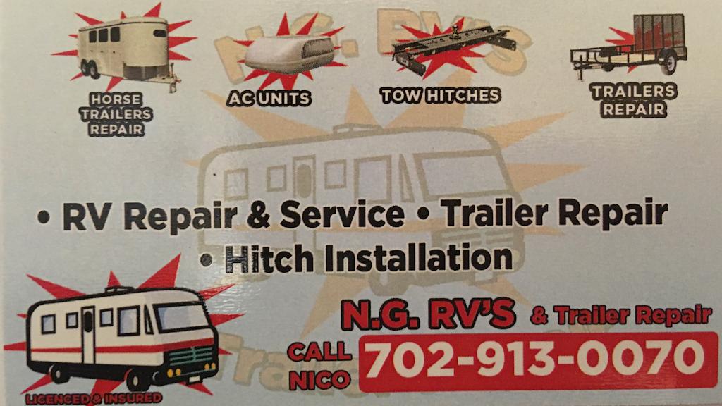 NG RV & Trailer Repair - car repair  | Photo 1 of 10 | Address: 3796 W Edward Ave, Las Vegas, NV 89108, USA | Phone: (702) 913-0070