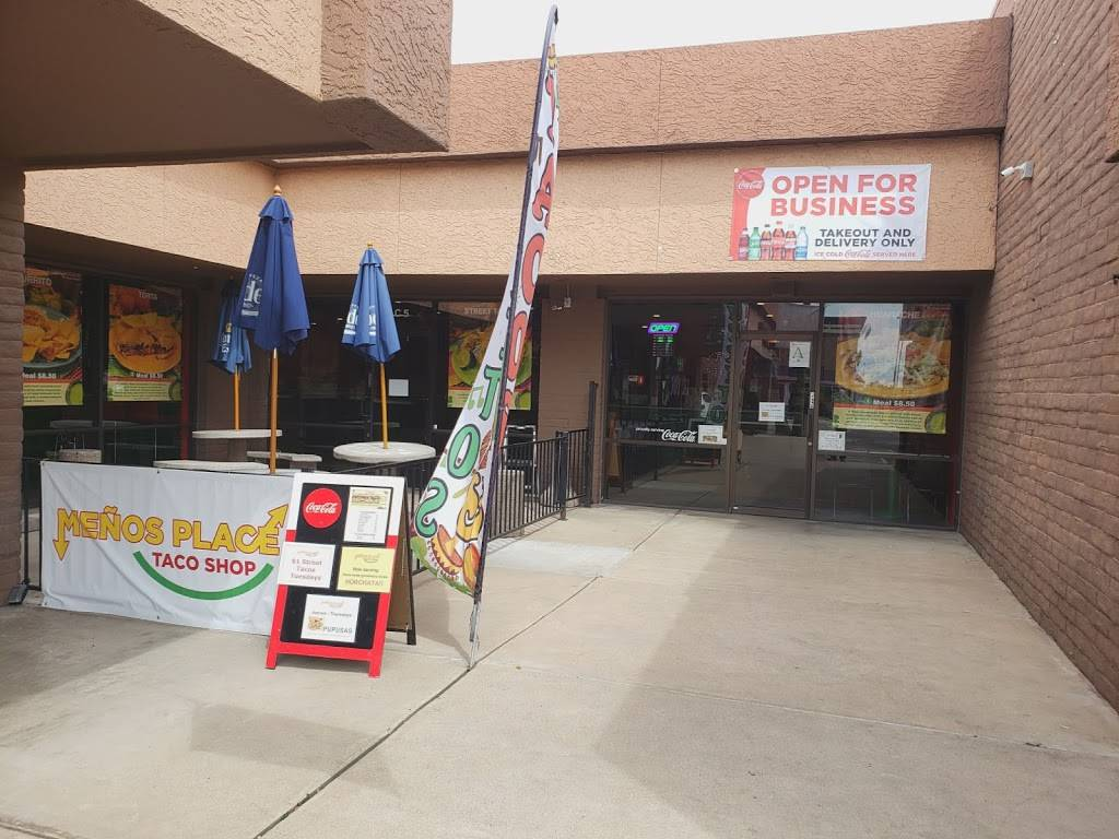 Meño's Place Taco Shop - restaurant    Photo 3 of 10   Address: 1720 W Southern Ave c5, Mesa, AZ 85202, USA   Phone: (480) 649-3229