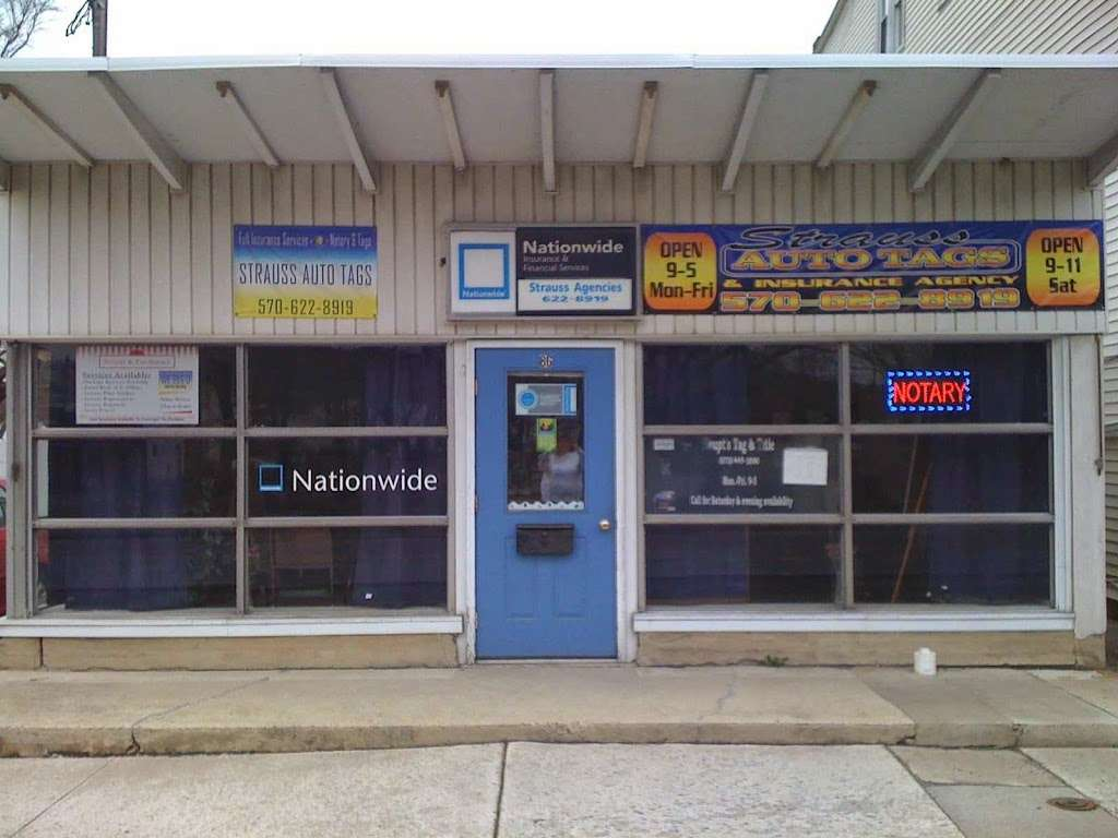 Strauss Agencies - insurance agency    Photo 1 of 1   Address: 86 Coal St, Port Carbon, PA 17965, USA   Phone: (570) 622-8919