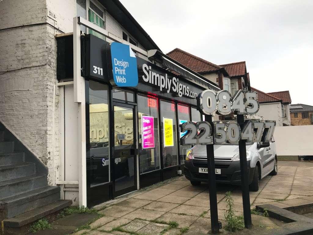Simply Signs Ltd - store  | Photo 4 of 10 | Address: 311 Neasden Ln N, London NW10 0AG, UK | Phone: 020 8452 9710