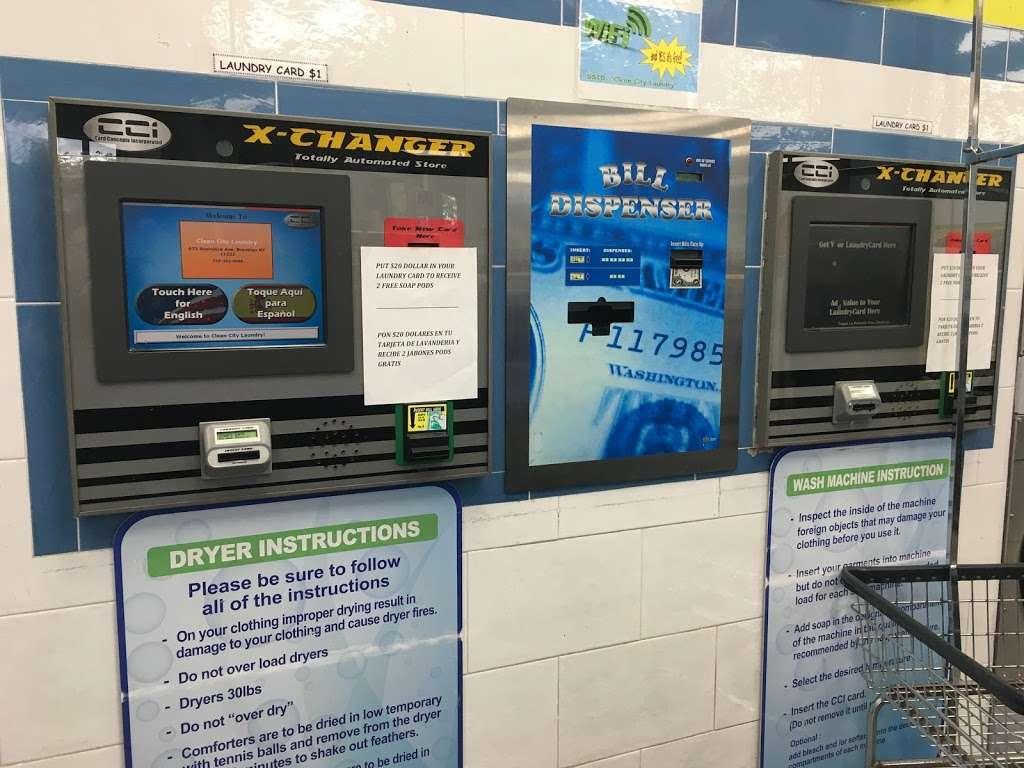 Clean City Laundry - laundry  | Photo 6 of 7 | Address: 673 Bushwick Ave, Brooklyn, NY 11221, USA | Phone: (718) 443-8888