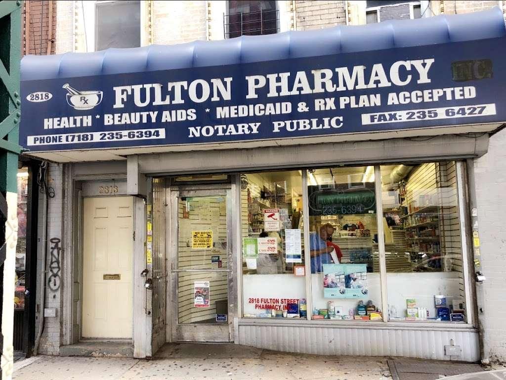 Boca Pharmacy - pharmacy    Photo 1 of 3   Address: 2818 Fulton St, Brooklyn, NY 11207, USA   Phone: (718) 235-6394