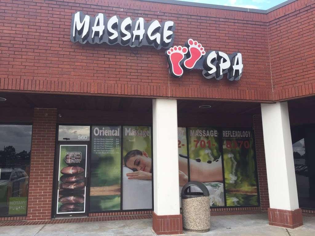 Oriental Massage Spa - spa  | Photo 8 of 10 | Address: 560 Sawdust Rd, Spring, TX 77380, USA | Phone: (832) 701-8370