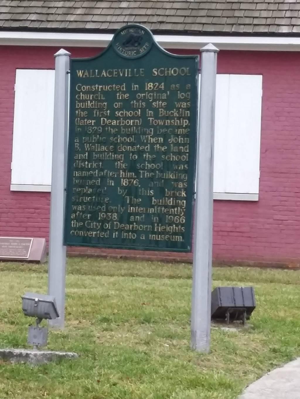 Wallaceville School - museum  | Photo 5 of 8 | Address: 8000 Kinmore St, Dearborn Heights, MI 48127, USA | Phone: (313) 791-3600