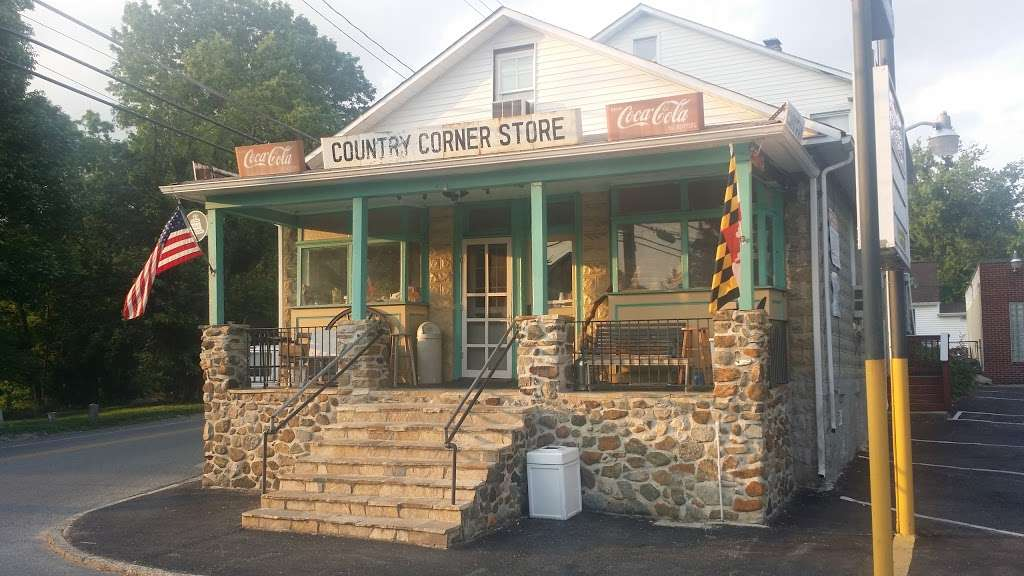 Country Corner Store 425 Oella Ave Catonsville Md 21228 Usa