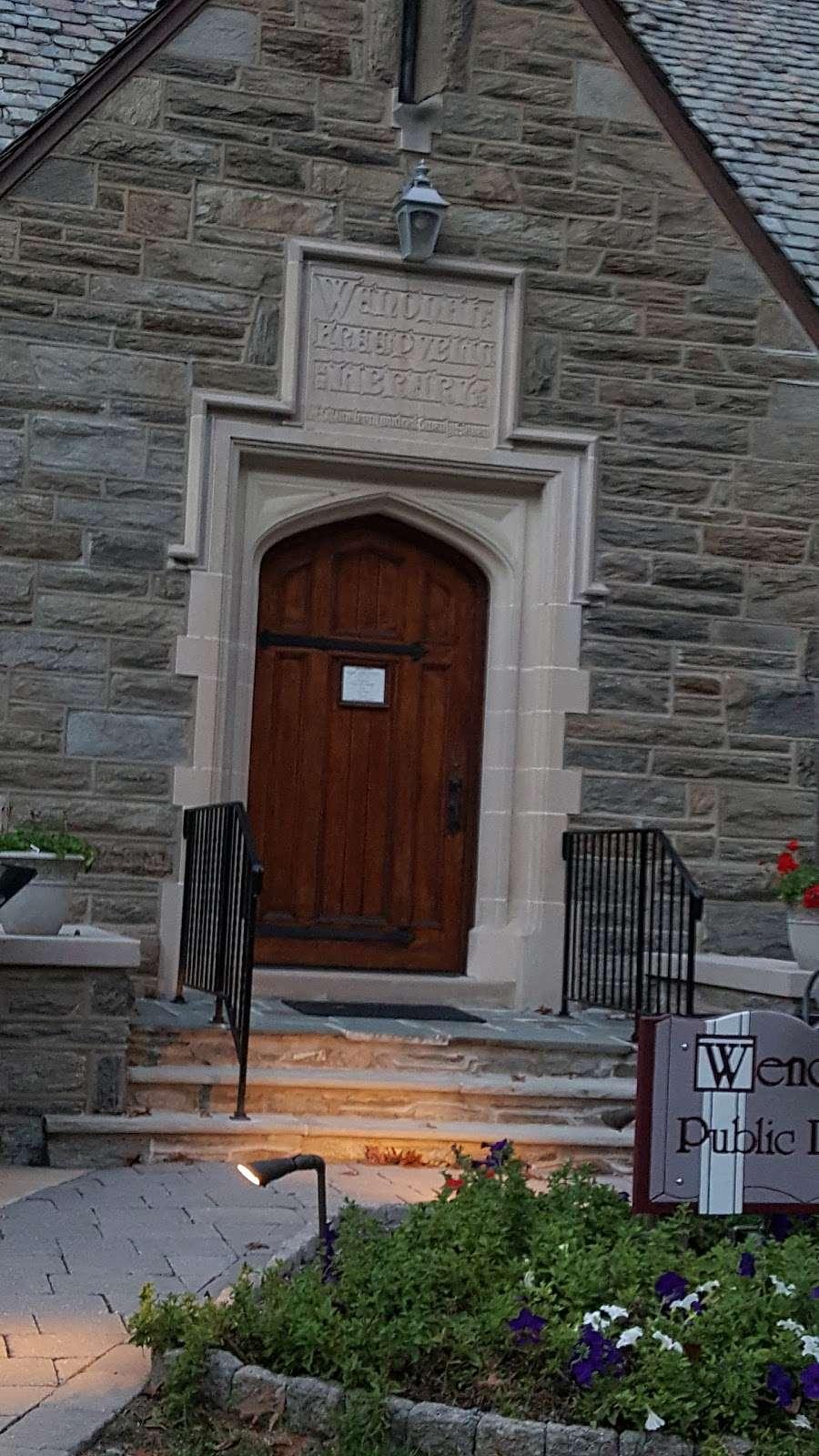 Wenonah Free Public Library - library    Photo 6 of 10   Address: 101 E Mantua Ave, Wenonah, NJ 08090, USA   Phone: (856) 468-6323