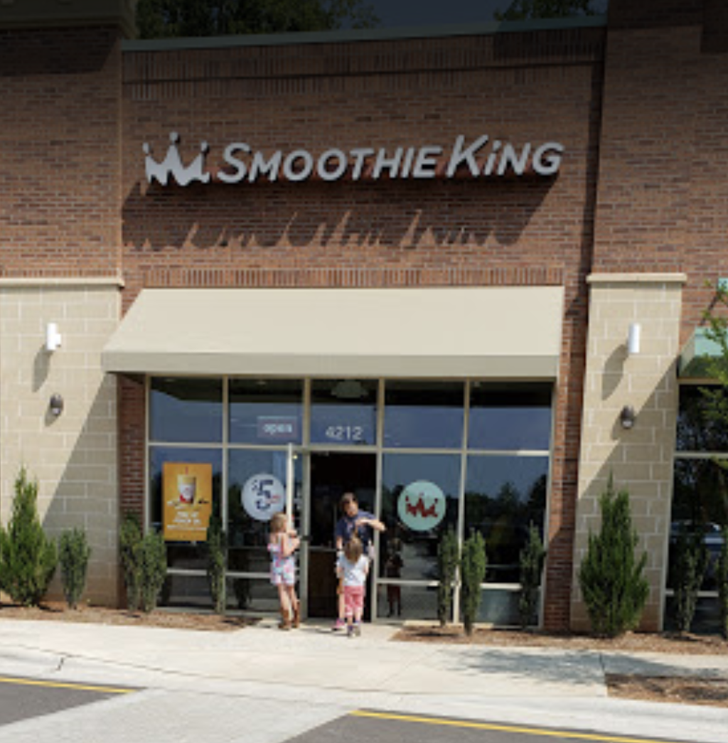 Smoothie King - meal delivery    Photo 4 of 7   Address: 4208 Lassiter Drive Suite J, Holly Springs, NC 27540, USA   Phone: (919) 285-2187