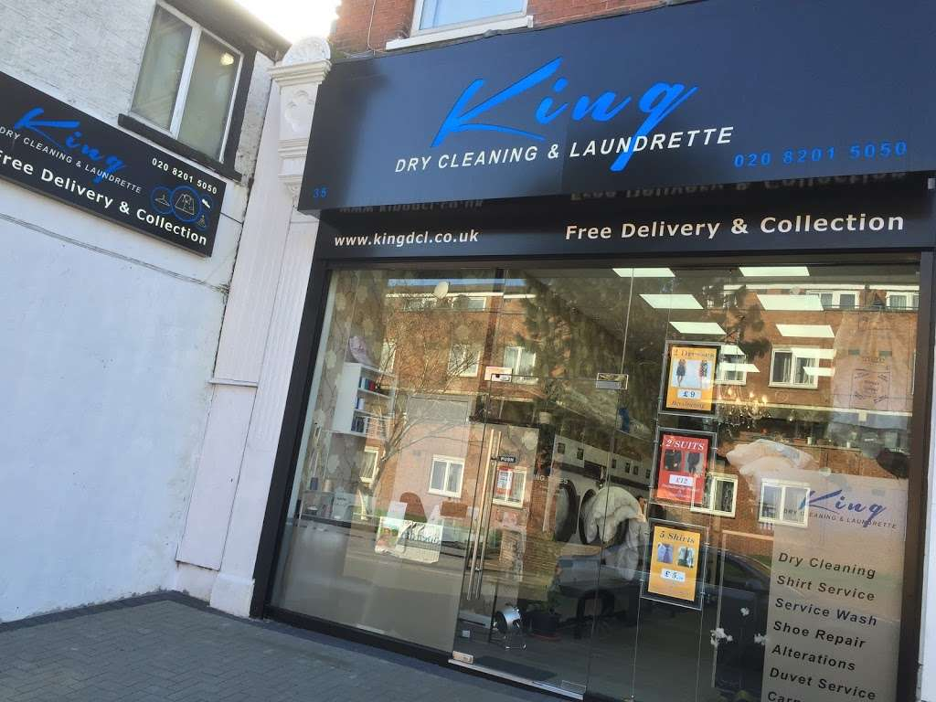 King Dry Cleaning & Laundrette - laundry  | Photo 9 of 10 | Address: 35 Church Rd, London NW4 4EB, UK | Phone: 020 8201 5050