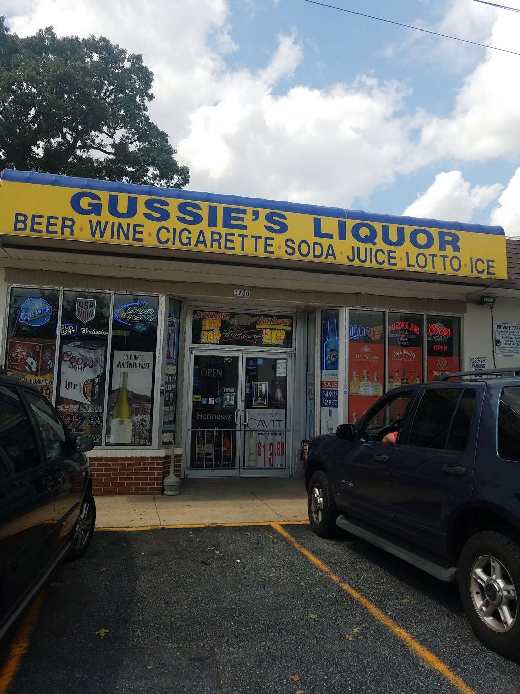 Gussies Liquor - store  | Photo 2 of 3 | Address: 1700 Old Eastern Ave, Essex, MD 21221, USA | Phone: (410) 687-1148