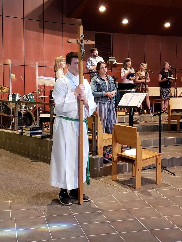 Good Shepherd Catholic Church - church  | Photo 10 of 10 | Address: 12800 W 75th St, Shawnee, KS 66216, USA | Phone: (913) 631-7116