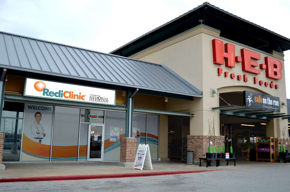 RediClinic Cypress (Barker Cypress) - health  | Photo 1 of 5 | Address: In Front of H-E-B, 24224 Northwest Fwy # D, Cypress, TX 77429, USA | Phone: (833) 423-7334