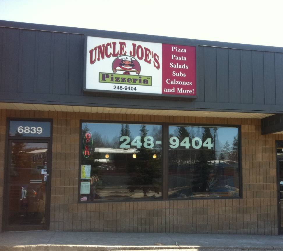 Uncle Joes Pizzeria - meal delivery  | Photo 1 of 10 | Address: 6839 Jewel Lake Rd, Anchorage, AK 99502, USA | Phone: (907) 248-9404