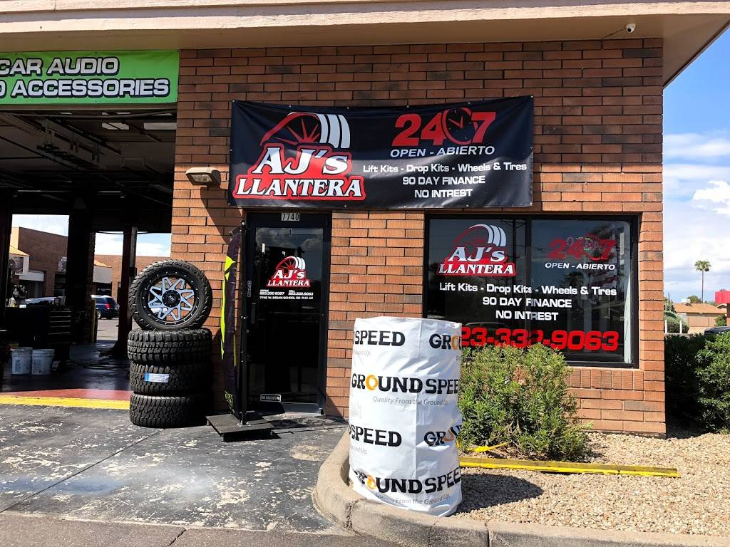 AJs Llantera - car repair  | Photo 7 of 10 | Address: 7740 W Indian School Rd suite 1, Phoenix, AZ 85033, USA | Phone: (623) 332-9063