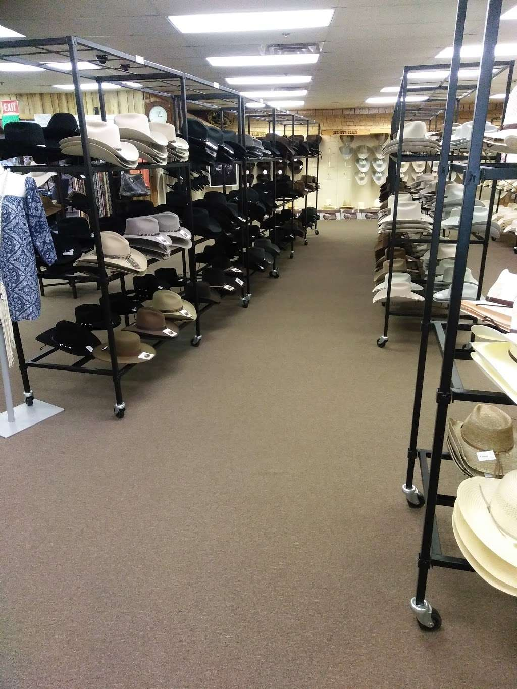 Stetson Hat Co Outlet Store - clothing store    Photo 4 of 10   Address: 3601 S Leonard Rd, St Joseph, MO 64503, USA   Phone: (816) 233-3286