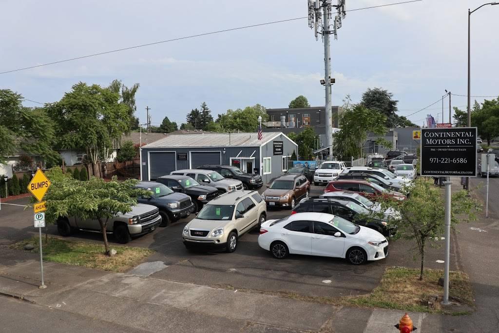 Continental Motors Inc. - car dealer  | Photo 1 of 3 | Address: 6936 NE Martin Luther King Jr Blvd, Portland, OR 97211, USA | Phone: (971) 221-6586