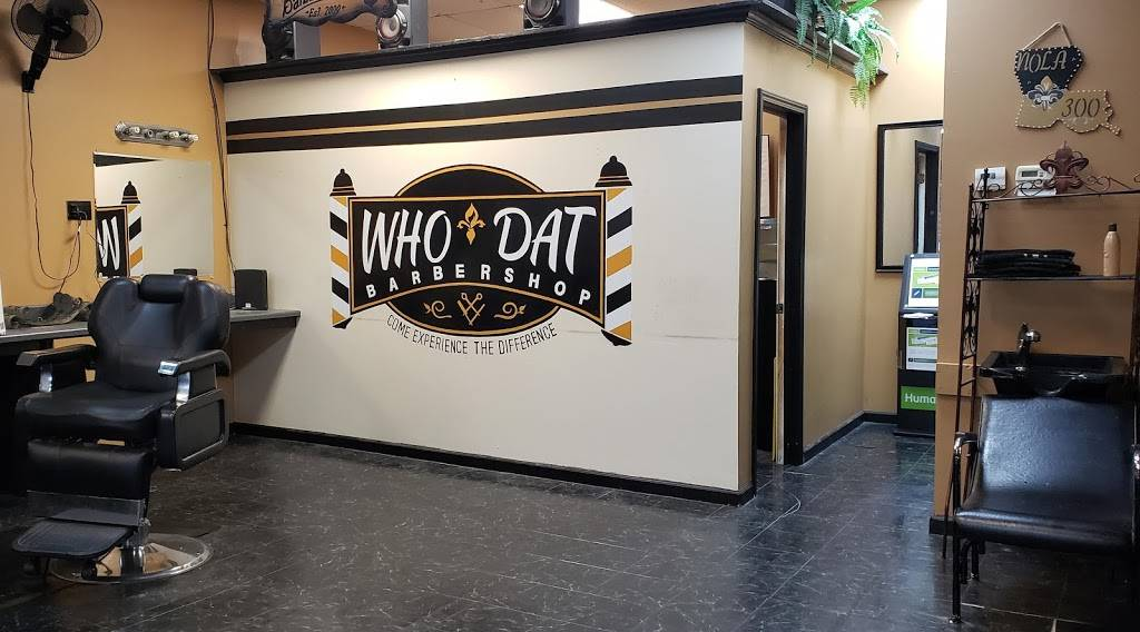 WHO DAT BarberShop Inc. - hair care  | Photo 9 of 10 | Address: 5741 Crowder Blvd a8, New Orleans, LA 70127, USA | Phone: (504) 246-4446