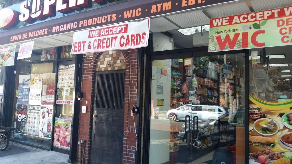 Villatapia Super Market - supermarket  | Photo 1 of 2 | Address: 40 Nostrand Ave, Brooklyn, NY 11205, USA