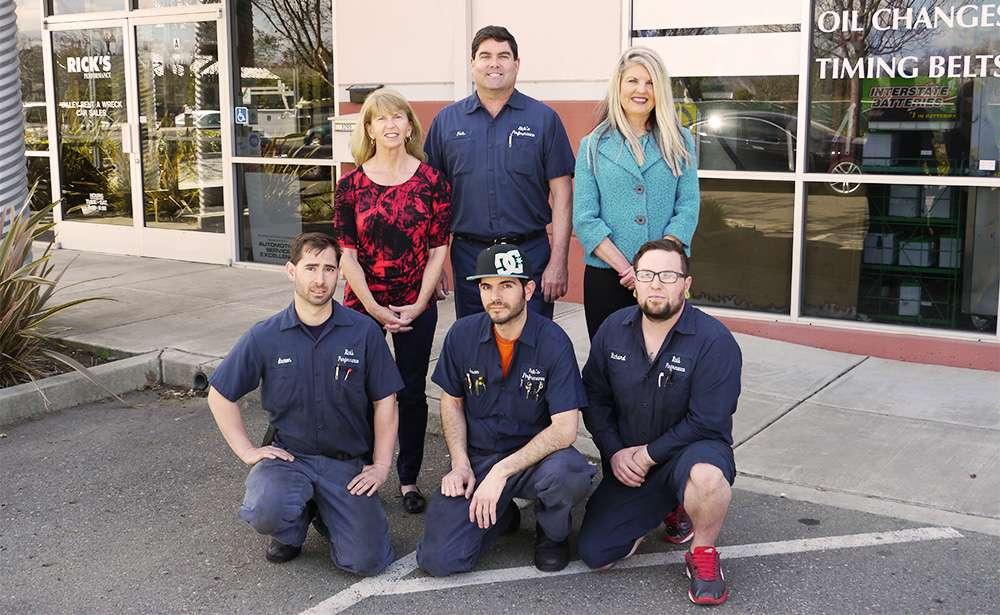 Rick's Mazda and Nissan Repair - car dealer  | Photo 5 of 6 | Address: 3295 Bernal Ave A, Pleasanton, CA 94566, USA | Phone: (925) 484-3220