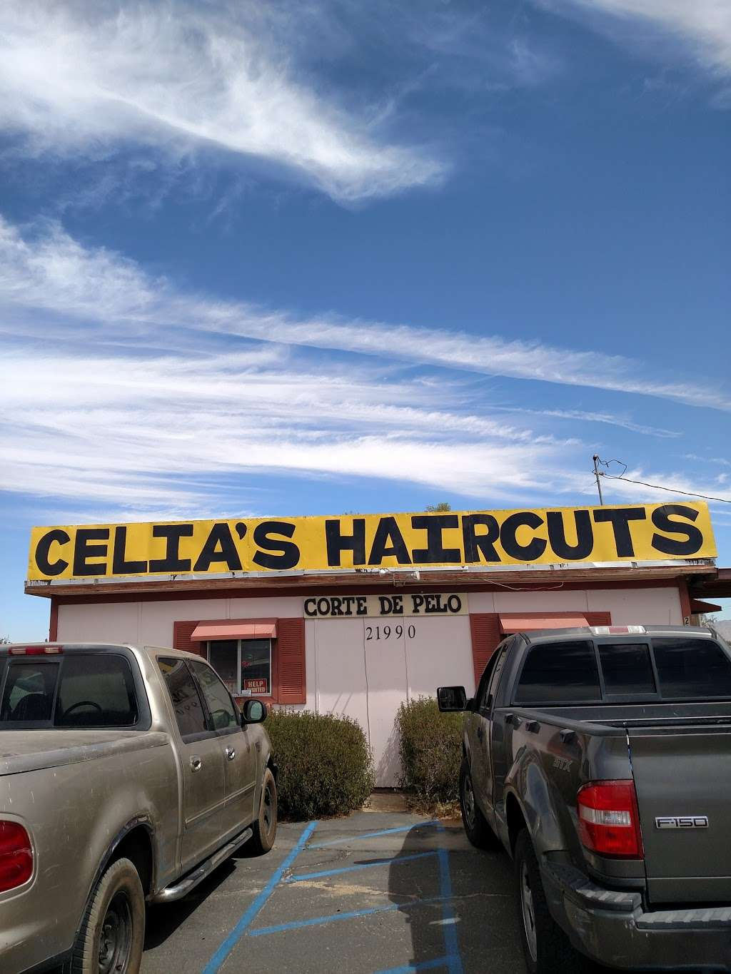CELIAS HAIRCUTS - store  | Photo 2 of 3 | Address: 21990 Bear Valley Rd, Apple Valley, CA 92308, USA | Phone: (760) 790-8166