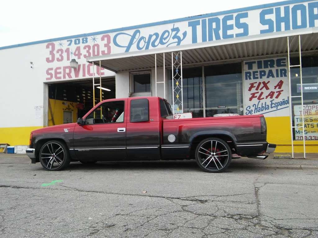 Lopez Tire Shop - car repair  | Photo 8 of 10 | Address: 15303 S Halsted St, Harvey, IL 60426, USA | Phone: (708) 331-4303
