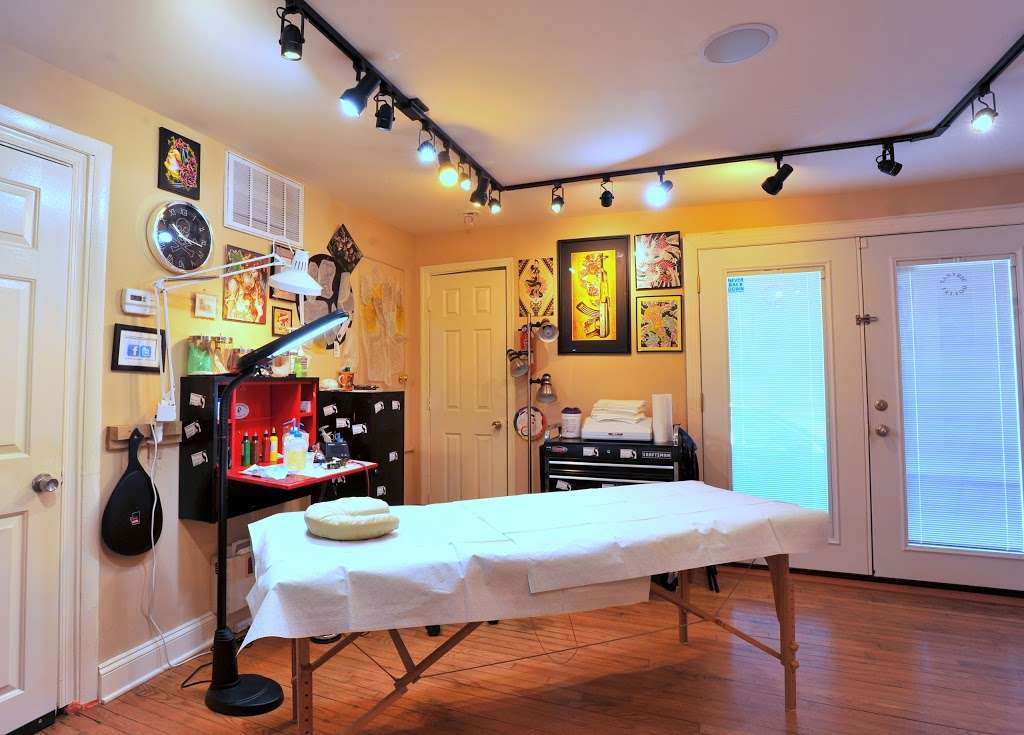 Tantric Tattoo Boutique - store    Photo 6 of 10   Address: 837 Olney Sandy Spring Rd, Sandy Spring, MD 20860, USA   Phone: (240) 342-2728
